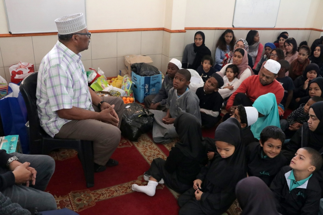 JEQ Outreach Programme: Vision Child and Youth Care Centre