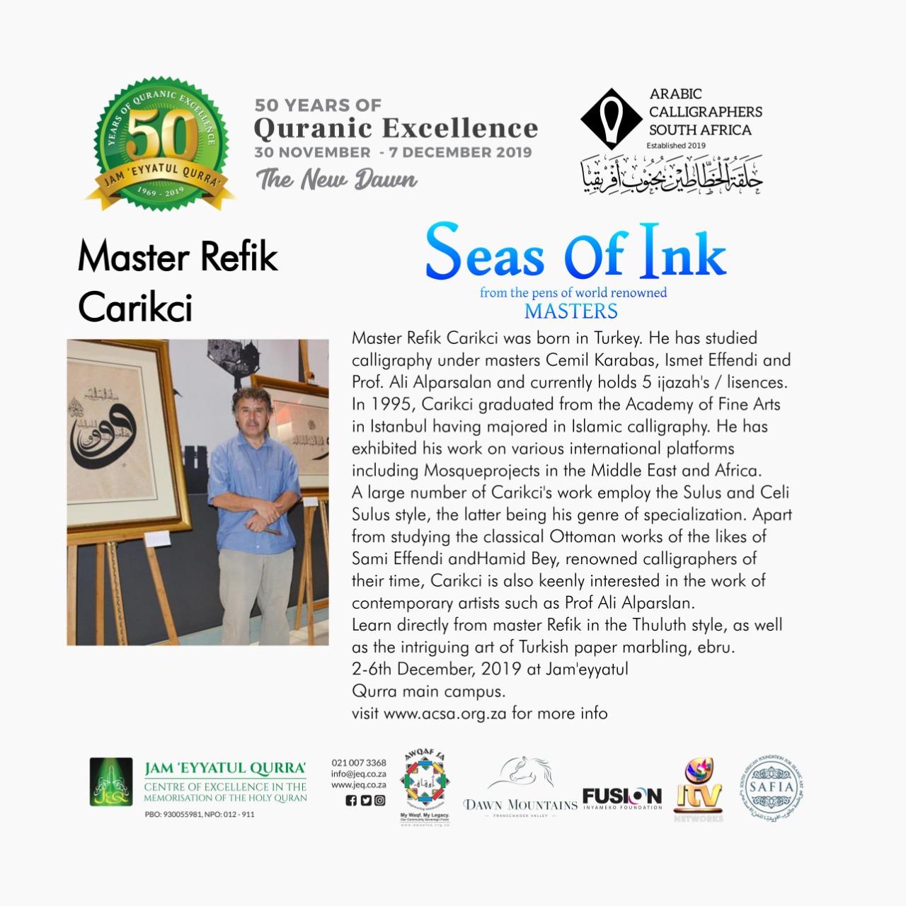 Master Refik Carikci
